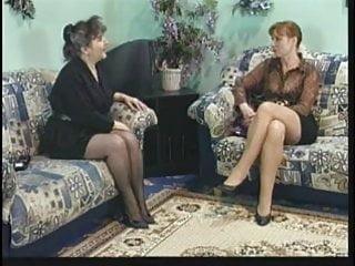 Mature video: mature lesbians