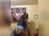 Cute Black Teens Twerking