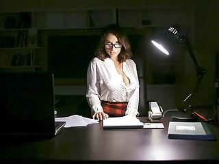 Stockings Brunette Big Tits video: MYLF - Gorgeous Milf Bounces On Big Cock