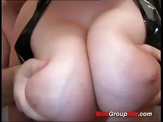 .young busty rough anal gangbanged.