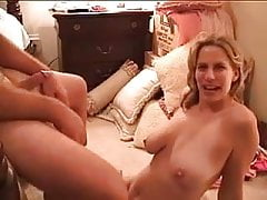 Horny Amateur Betsy sucking neighbor