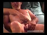 Video of Two Old Bums Jacking Off