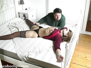 Bondage Hd Videos video: Tied To The Bed +++ jocoboclips.com
