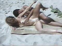 Amatérská kurva na pláži