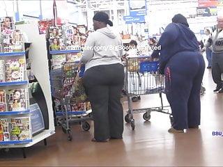 Black Big Ass Milf vid: Massive & Humongous Booty BBW & SSBBW In Line