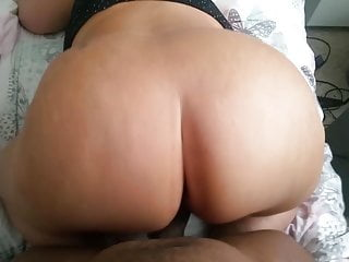 Bbw Big Ass Milf video: My bbw girlfriend MILF doggy BBC