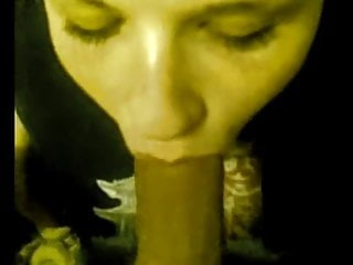 Blowjob Big Cock Facial video: Horny woman gets babies on her face.