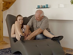 Daddy4k. Super-cute Honey Ornella Wants To Attempt Lovemaking With Seasoned