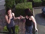 me and my sister stephanie smokng