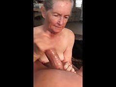 Ręczna robota babci, kompilacja cum