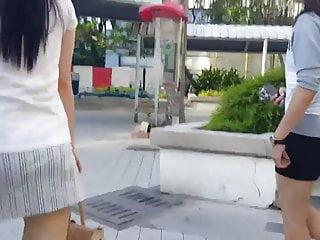 Upskirting短裙Sg Girl