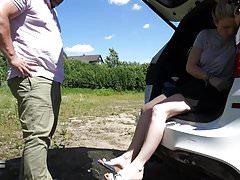 Odkryty woskowany na stopach - Lady-Sabrina