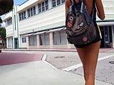 candid voyeur hot model skinny long legs perfect body