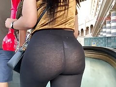 latina wears incredibly see thru leggings in public free full porn