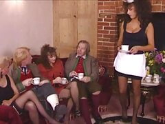 Sarah Young, French Maid At Party