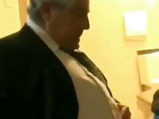 grandpa in suit fuck