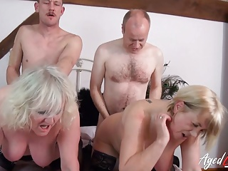 Mature of Orgy AgedLovE Group Two Together Couples