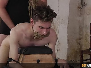 Master roughly anal twink sub...