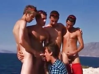 Five boy orgy bare with me beach...