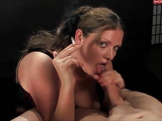 Rebecca Ryder Gives A Double Smoking Blowjob Unmissable