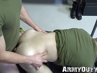 Have rough anal session without condom...
