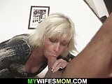 Wife finds her old mommy riding his cheating dick