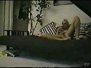 My girlfriend home alone masturbating. Hidden cam