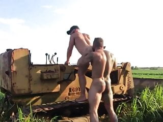 Rednecks Fuck Raw Outdoors