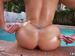 Curvy lilly hall rides cock after sloppy sucking...