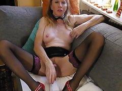 princess masturbates in stockings  horny milf. orgasmicPorn Videos