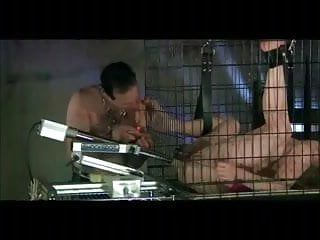 Caged Machine Gang Bang