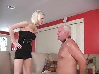 Old cuck slave had cum...