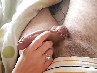 Teasing the denied cock