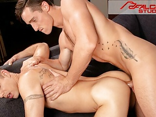 FalconStudios – Tattooed Couple Drilling & Sucking Off Each