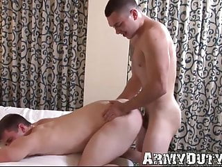 Impeccable young jock takes on a throbbing fat...