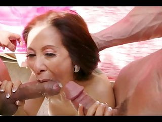 Doublefucked while her husband is out...