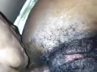 Anal black hairy pussy...