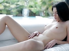 WOWGIRLS – Valeria Playing with herself in a very Sensual Way