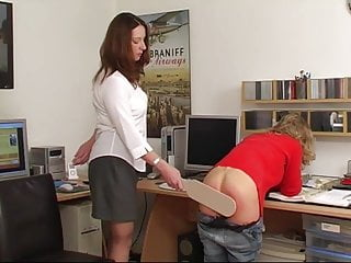 Spanked p a...