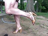 Showing Muscular Legs