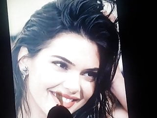 first My kendall tribute to cum jenner