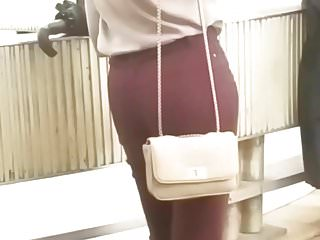 Ass waiting for someone