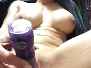 Milf with her dildo
