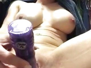 Milf with her dildo