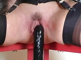 BLONDE SQUIRTING IN STOCKINGS