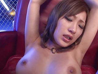 Nude Aika fucked blind folded and jizzed on jugs – Extra at