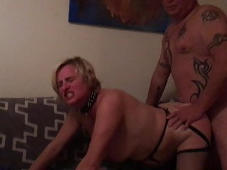 Piggy happily fucked guest by slutwife