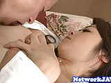 Creampie loving asian milf gets drilled