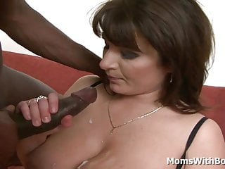 All busty and horny mom cock...