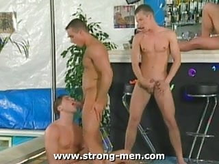 Group muscle sex...